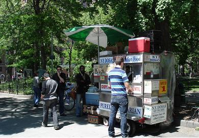 street vendor@washington sq..jpg